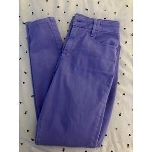 OLD NAVY Lilac Rockstar Skinny Jeans. Size 8.